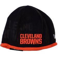 4630832eb Cleveland Browns Era Knit Hat on Field Tech Beanie Stocking Cap 2015