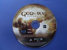 God of War Ascension For PlayStation 3 PS3 X-Display item - DISC ONLY