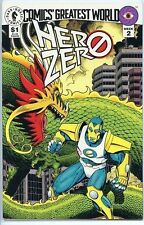 Comics Greatest World Hero Zero 1993 series # 1 near mint comic book
