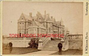Rare Albumen CDV Jacobean Manor House Richard Wilkinson Trowbridge 1870