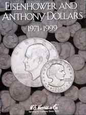 Eisenhower/SBA Coin Folder Album 1971-1999, P, D & S by H.E. Harris