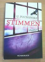 Stimmen von Ursula Poznanski (Taschenbuch), ZUSTAND GUT BIS SEHR GUT