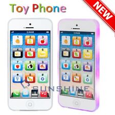 Educational Learning Touch Screen Kids Music Toy Cell Phone Child Gift White