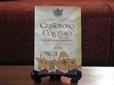 SAN MARINO 2006 - 2 Euro commemorativi FdC Cristoforo Colombo - €