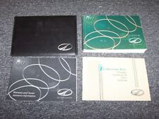 1997 Oldsmobile Achieva Original Owner's Owner User Guide Manual Set 2.4L 3.1L