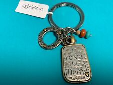 Brighton I Love You Mom  Charms Key FOB Key Chain(K15) NWT