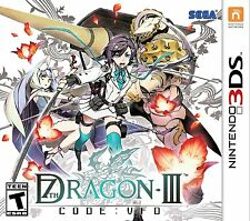 NEW 7th Dragon III Code: VFD (Nintendo 3DS, 2016)