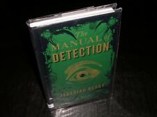 *SIGNED* The Manual of Detection by Jedediah Berry (2009) 1ST/1ST *SIGNED*