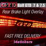 VW Golf GTD MK7 / MK7.5 Rear Middle High Brake Light Logo Vinyl Decal Sticker
