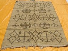 Hand Woven Jute Rug Turkish Kilim Dhurrie Afghan Oriental Area Rug 8'X10' ft