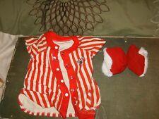 Teddy Ruxpin Pajamas Night Shirt And Slippers 1980's