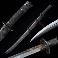 Chinese Longquan Sword Qing STL dragon Knives Pattern steel Broadsword #1689