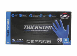 SAS 6604 (10-Box Case)Thickster Textured Safety Latex Gloves, Extra Large