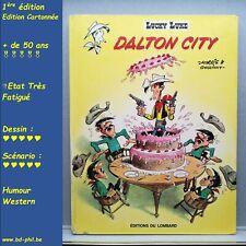 lucky Luke, 34, Dalton City, Morris, Goscinny, Lombard, EO, 1969, TF, C
