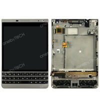 BlackBerry Passport Silver Edition (Q30 2nd) LCD Touch Assembly w/Frame+Keyboard