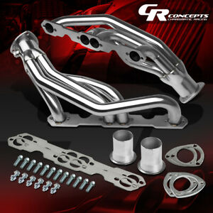 FOR 88-97 CHEVY/GMC CK C/K 1500/2500/3500 5.0L/5.7L V8 STAINLESS MANIFOLD HEADER