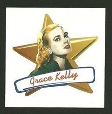 Grace Kelly Coke Die Cut Movie Star Sticker