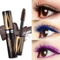 3D Silk Fiber Lash Mascara Women Waterproof 3 Color Nice Eyelashes Curling A9G0