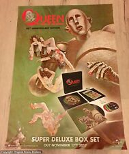 QUEEN - PROMO POSTER - NEWS OF THE WORLD 40th anniversary LP / CD / BOX tickets