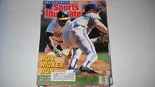 Rickey Henderson- Oakland A's - 10/16/1989 -Sports illustrated