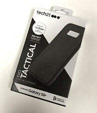 Tech21 Evo Tactical Military Drop Protection Case Cover Samsung S8+ Plus Black