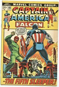 Marvel Comics: Captain America #148 (1st Series)  VF
