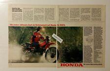 Werbeanzeige/advertisement A4: Honda XL 500 S 1981 (110416180)