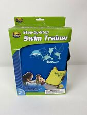 Surf Club Step byStep Dolphin Pool Life Jacket Swimming Paddle Trainer Vest Blue