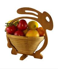 Maison de lapin panier FRUITS PLIANT 30x30 cm bois dessous plats bol