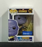 Funko Pop! Marvel Avengers Infinity War Thanos #296 Walmart Exclusive