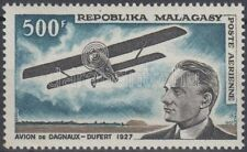 Aviation Malagasy Stamps