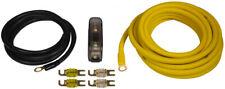 ESX DWK16 16qmm Kabelset Anschluß-Set Endstufe Verstärker Car-HiFi > Vollkupfer