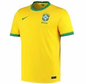 New Brazil Home Jersey Football Shirt 2021/22