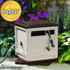 Manual Hose Reel Storage Box 225ft Water Plant Outdoor Garden Lawn Yard Patio US