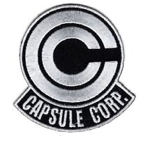 Dragonball Z Capsule Corp. Embroidered iron on 3.0 inch iron on Patch