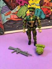 Vintage GI Joe Leatherneck Marine Complete  Excellent Shape Cobra