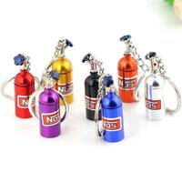 New Fashion Creative Metal Car Keyring Keychain Key Chain Ring Keyfob Gift FZ