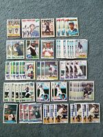 Chet Lemon Baseball Card Mixed Lot of approx 158 cards
