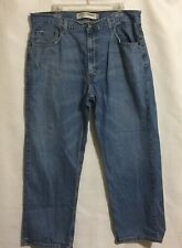 Levi 569 Mens Size 36 Loose Straight Distressed Jeans