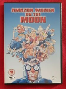 Amazon Women on the Moon (DVD) AMAZING CAST with Carrie Fisher - R2