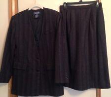 Ladies E.H Woods Skirt Suit Size 10