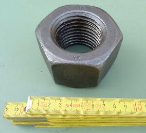 Mutter Gewinde M56 x5,5 Regelgewinde Stahl blank Muttern für Gewindeschrauben