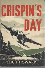CRISPIN'S DAY by LEIGH HOWARD hc/dj 1952