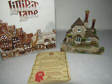 """Vine Cottage"" 1990 Lilliput Lane Cottage W/ Deeds - Blaise Hamlet Coll - Mib"