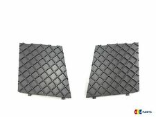 BMW GENUINE 5 E60 E61 M SPORT FRONT BUMPER LOWER MESH PAIR GRILL TRIM RIGHT LEFT