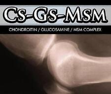 Glucosamine Chondroitin MSM 200 Capsules Pills Arthritis Joint Pain Inflammation