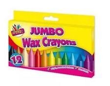 Brand New 12 Jumbo Wax Crayons