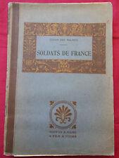 SOLDATS DE FRANCE - Jehan des MAUGES - MAISON A. MAME - 1915