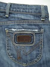 Citizens of Humanity sz 29 x 32 The Rose Low Waist Bootcut Jeans Stretch in Azul