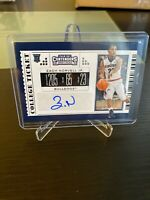 2019-20 Panini Contenders COLLEGE TICKET RC AUTO Zach Norvell JR